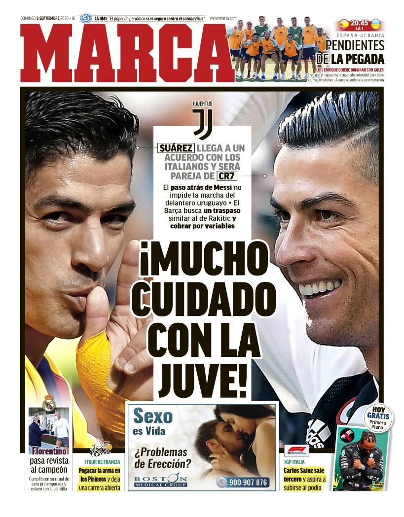 #LaPortada ¡Mucho cuidado con la Juve! 🗞️ https://t.co/ynv0oatAfn