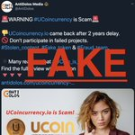 Image for the Tweet beginning: As a #UCoin work team,
