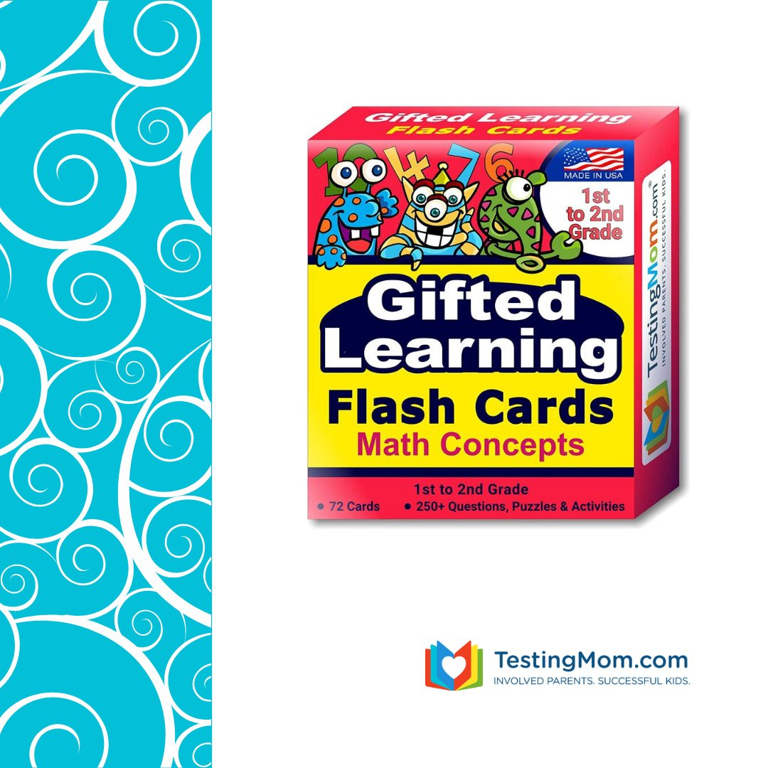 Our Testing Mom Gifted Learning Flashcards are the perfect way to engage your children and promote education in a fun and exciting way!  Follow the link in our bio to learn more!  #olsat #CogAT #WPPSI #WISC #AABL #ITBS #bracken #SRT #KBIT #NNAT #Terranova https://t.co/8bejl7zWgm