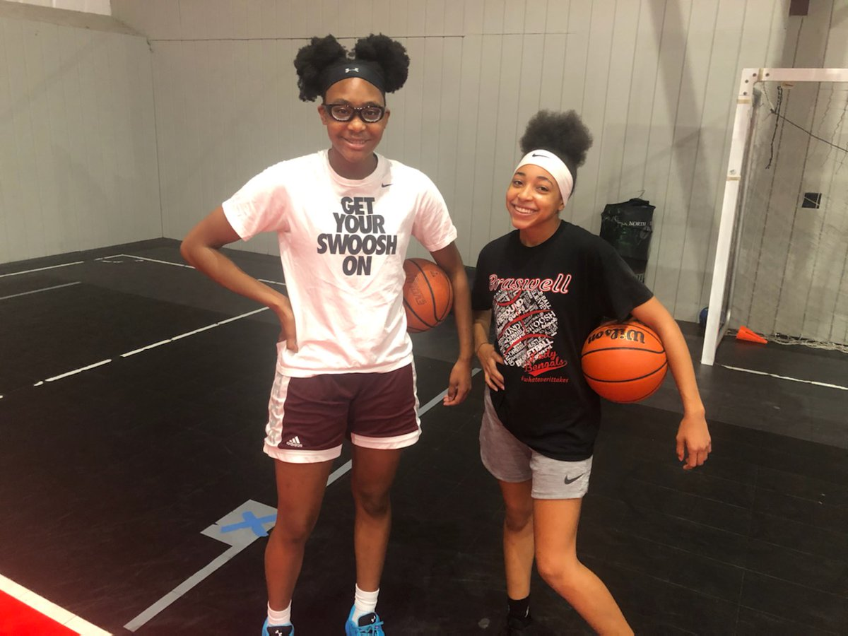 Driven Elite Player Development @alisawilliams_ and @Jazzy2x1 got better today. These two are gym rats and love to work on their game @braswell_gbball got some hoopers. https://t.co/xZBoM7iBKx