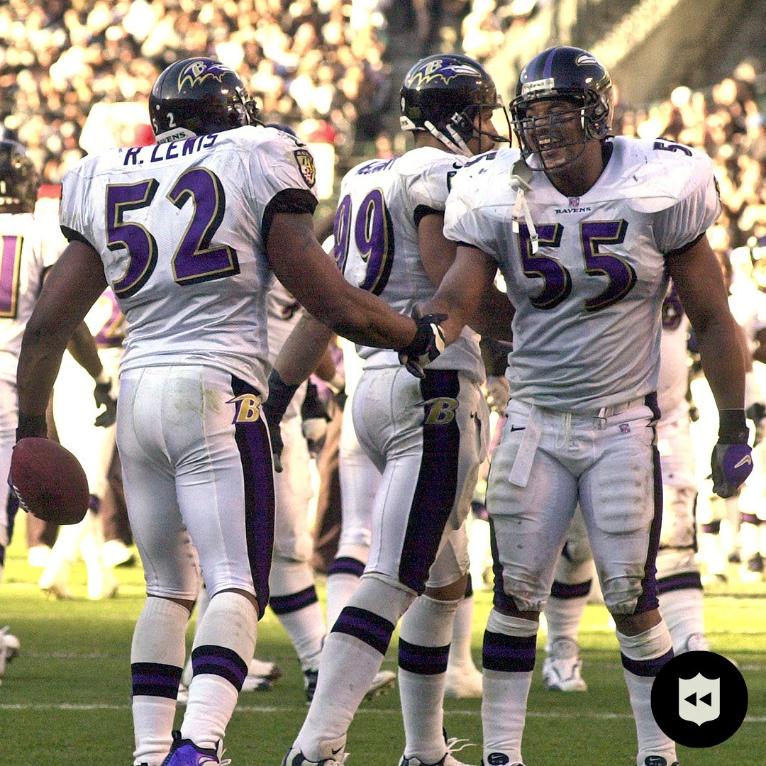 Where would you rank the 2000 @Ravens among the all-time great defenses?