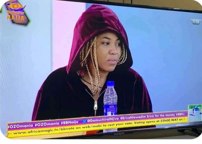 BBNaija 2020: Nigerians call for Erica's disqualification for threatening to kill Laycon