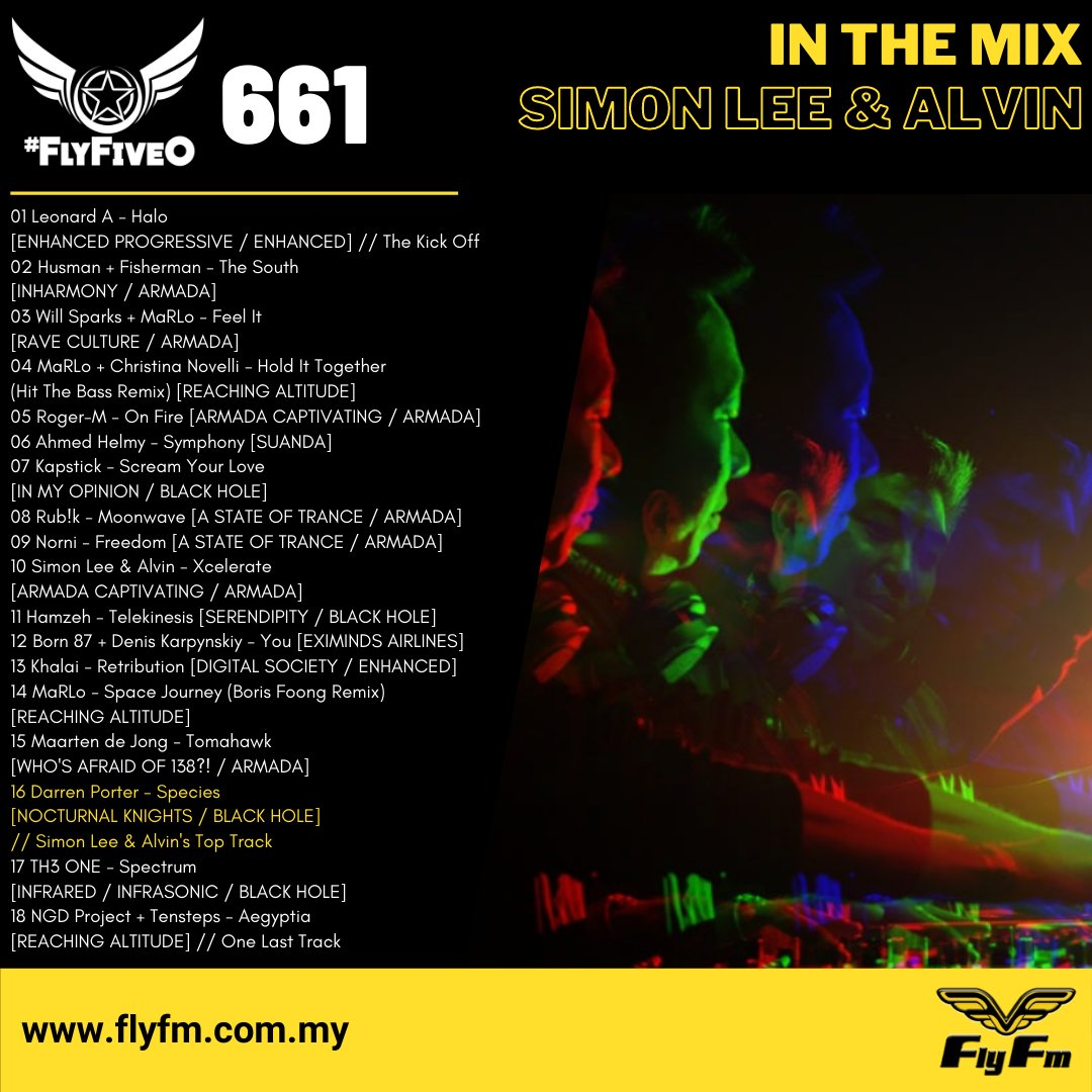 📡 FLY FM #FlyFiveO #661 in the mix with @simonlee_alvin ▶ https://t.co/uODdkH6nTE https://t.co/dBKd2AiY4U