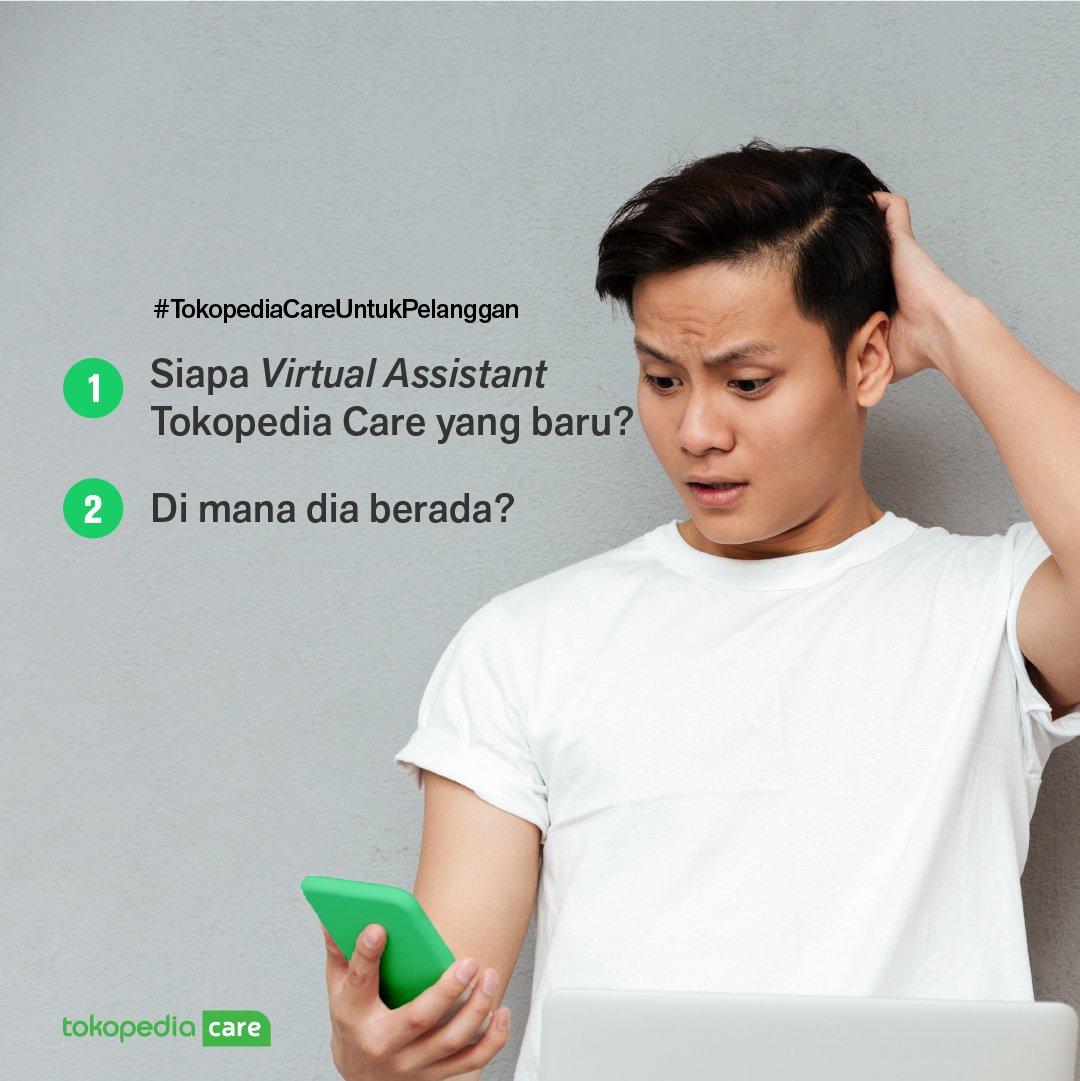 Caranya:  - Follow Twitter @TokopediaCare & @Tokopedia - Jawab 2 pertanyaan tersebut dengan cepat dan tepat - Mention @TokopediaCare dan gunakan hashtag #VirtualAssistantTokopediaCare  Mimin tunggu jawaban kamu sampai 7 September 2020, ya.😊 https://t.co/Rl8SmDEfkp