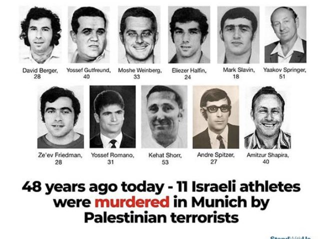 I spoke about this awful tragedy in my book. All Jewish people should know this day and be aware of what these innocent souls were put through for no reason at all except the fact that they were Jewish and represented Israel. They are the reason I became an Israeli citizen.
