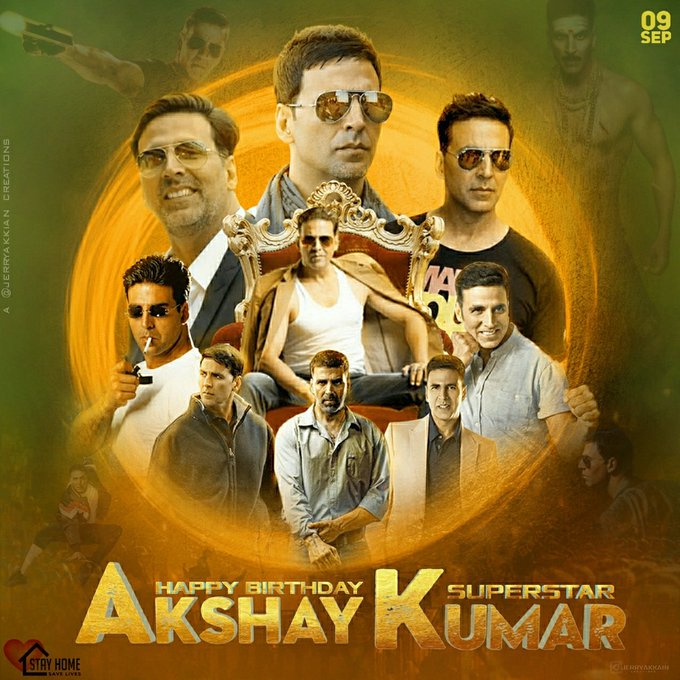 Happy birthday Akshay Kumar sir im advance Birthday CDP by
