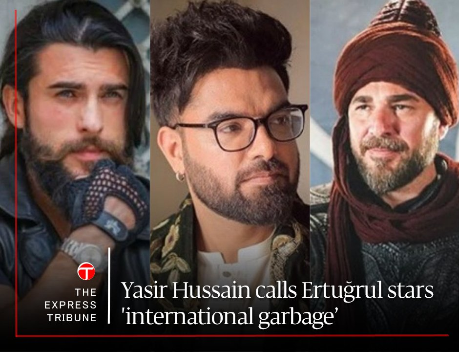 This lowlife #YasirHussain knows very well how to remain in news and trending on #socialmedia. Thanks to #TRTErtugrulByPTV our families have something sobre, rationale, descent, family oriented, cultural thing to watch #5DaysAWeek #YasirHussainIsTheRealGarbage https://t.co/bxXqSnWluu