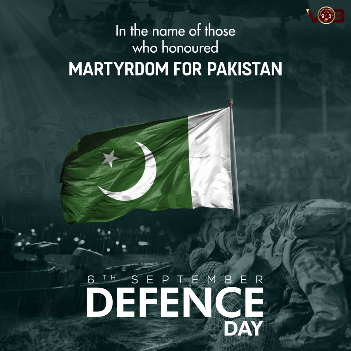 Salute to all Pakistan Armed Forces who defended the homeland with their great sacrifice !! #ShaanePakistan #DefenceDay #PakistanZindabaad https://t.co/DEFk5ZHZ8d