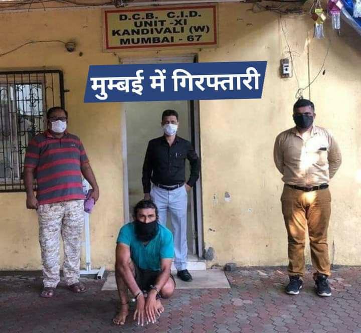 जनवरी महीने में नोएडा में गौरव चंदेल की हत्या  कर लूटपाट करने वाले ₹2.5 लाख इनामी मुख्य आरोपी आशू जाट को मुंबई में फल सब्ज़ियाँ बेचते हुये गिरफ़्तार किया। आशू जाट यूपी पुलिस के एनकाउंटर से बचने के लिये मुंबई छिपा हुआ था और फल सब्ज़ियाँ बेच रहा था। https://t.co/7IwNTJ74tg
