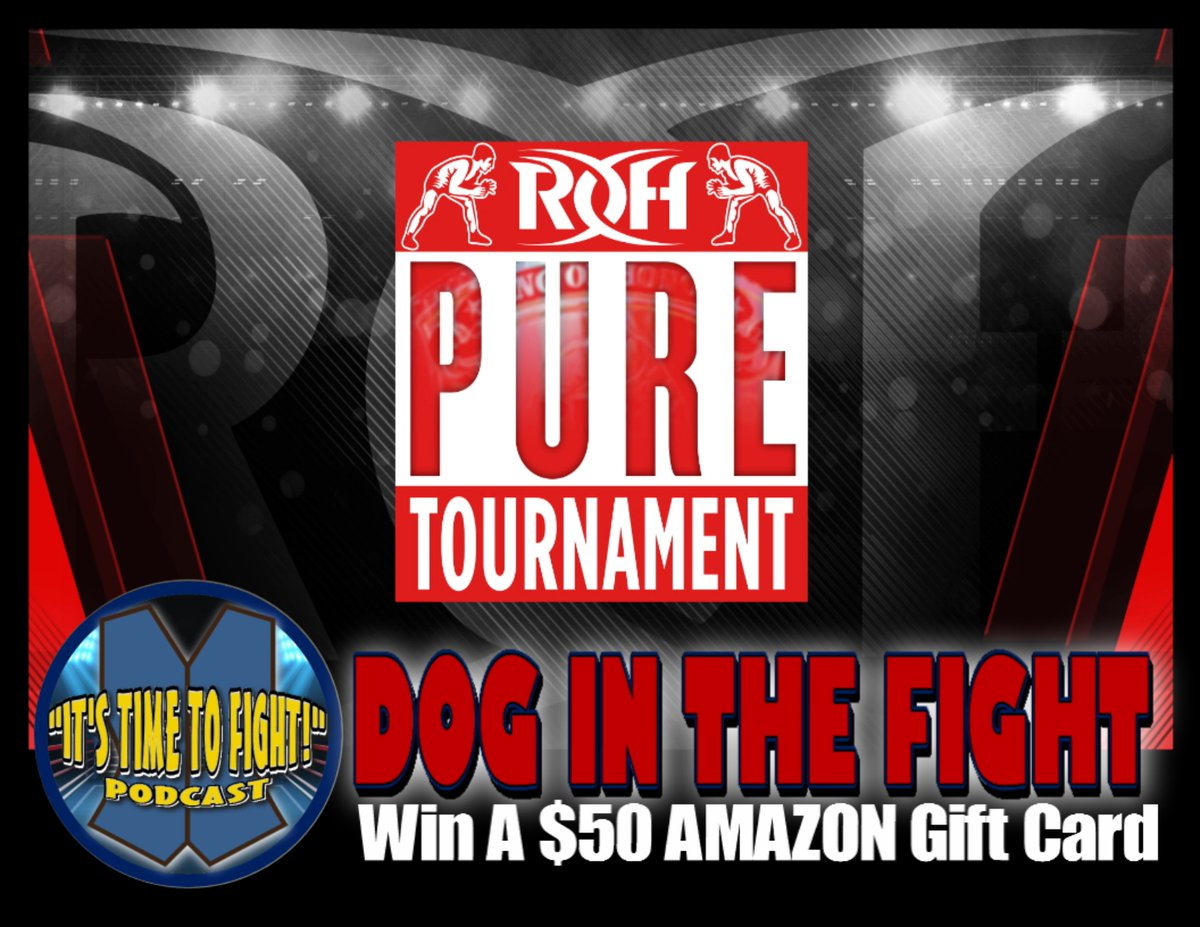 #Fighters Want To Win A $50 AMAZON Gift Card?!  Tune in LIVE to the Facebook Page (https://t.co/SgIAVvO5y6) TOMORROW (Time TBA) for our latest Dog In The Fight Pool. https://t.co/O376EchUGl