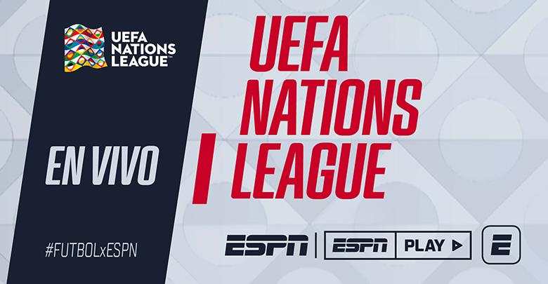 HOY Nations League en vivo 📺 ESPN2 & @ESPNPLAY #Hungría 🆚 #Rusia ⏰12:50ARG/URU 11:50BOL/PAR/VEN 10:50COL/ECU/PER (Excepto Chile) #España 🆚 #Ucrania ⏰15:30ARG/URU 14:30BOL/PAR/VEN 13:30COL/ECU/PER (Excepto Chile) #FUTBOLxESPN ⚽ Más info: bit.ly/2QLHpZm