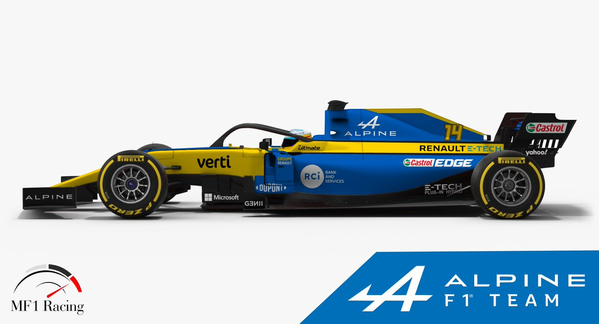 Wtf1 On Twitter Renault Will Become Alpine F1 Team Next Year A New Livery On The Cards Https T Co Fmvoxnslpk