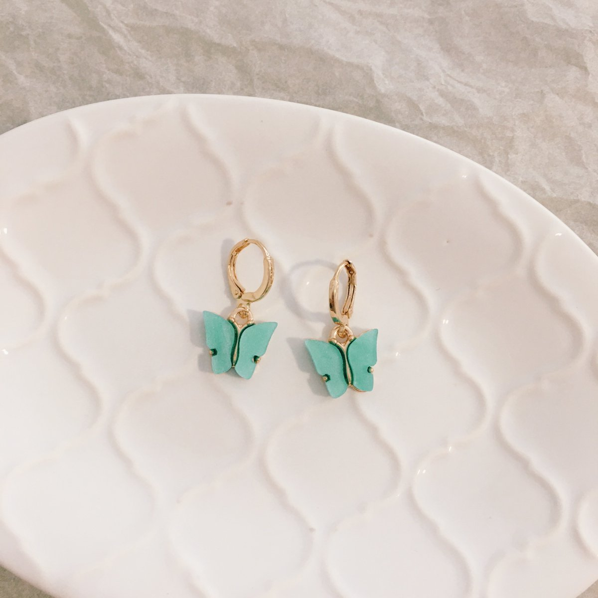 We see many pairs of butterflies in need of owners!  No worries, they would not fade away so soon.  These are the Pastel Blue Butterfly earrings.  #bythecloset101 #butterfly #natureinspired #butterflylovers #animallover https://t.co/UQXgsNuKwd