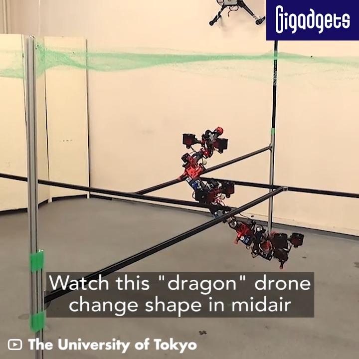 もうこの動きが空中でできるとなると、すごいよね、ドローンと認識できなくなるというか(笑)