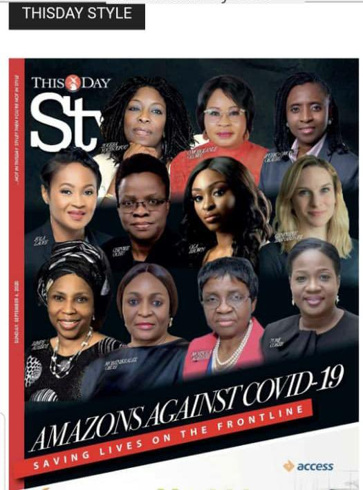 📢 #NCDCInTheNews In today's edition of @THISDAYLIVE Style, our amazing #WomenInNCDC - @chinwe_ochu, @ElsieIlori, @ADAJESUS2010 & Dr Priscilla Ibekwe were featured for their contribution to Nigeria's response to #COVID19. 📰 Get a copy to read
