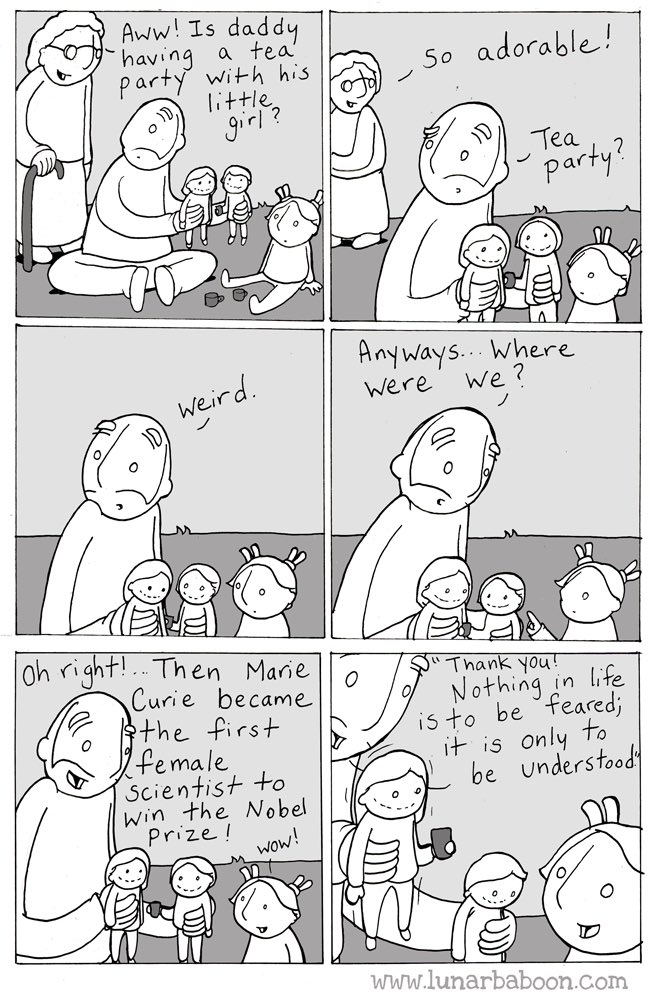Curie! lunarbaboon.com