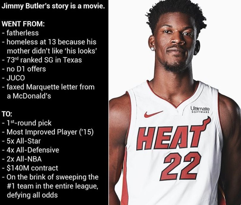 Mink Flow On Twitter Jimmy Butler Has One The Best Come Up Stories
