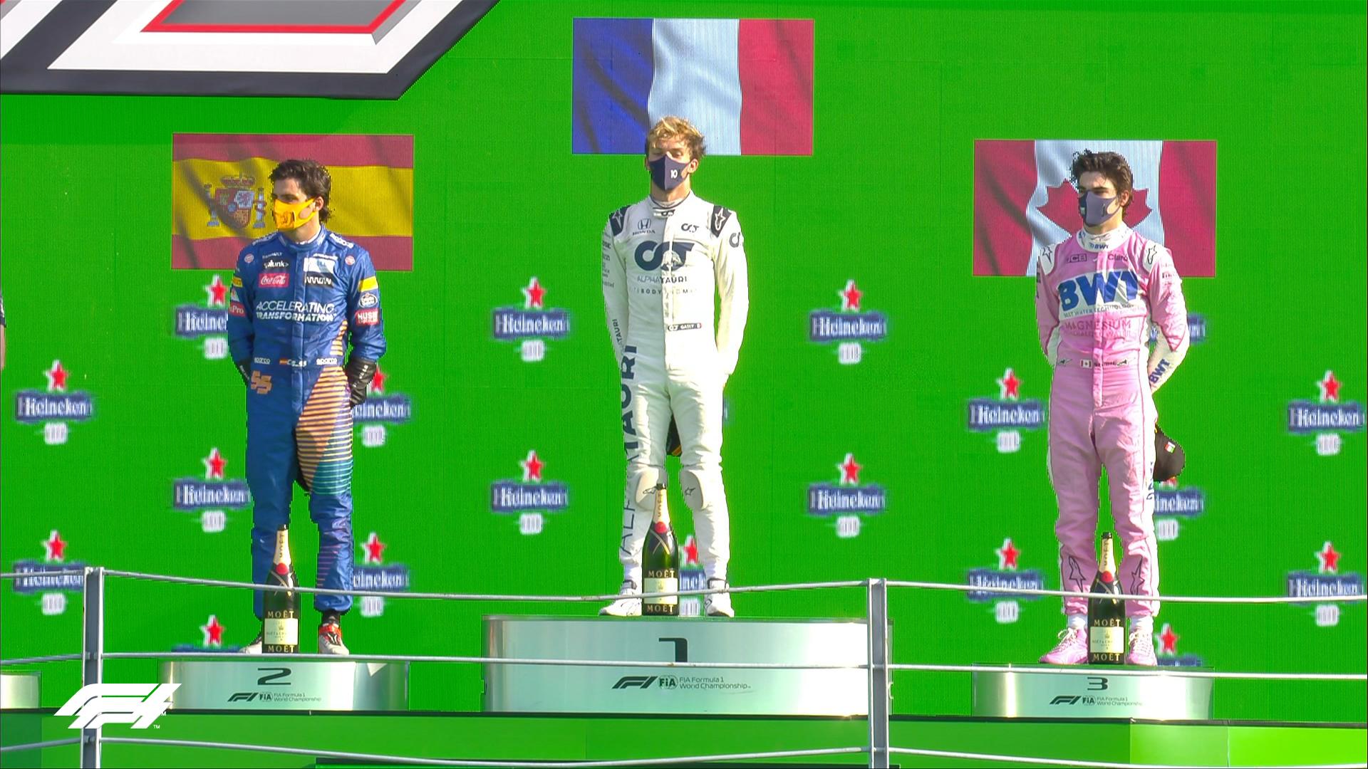 Italian GP 2020 Results