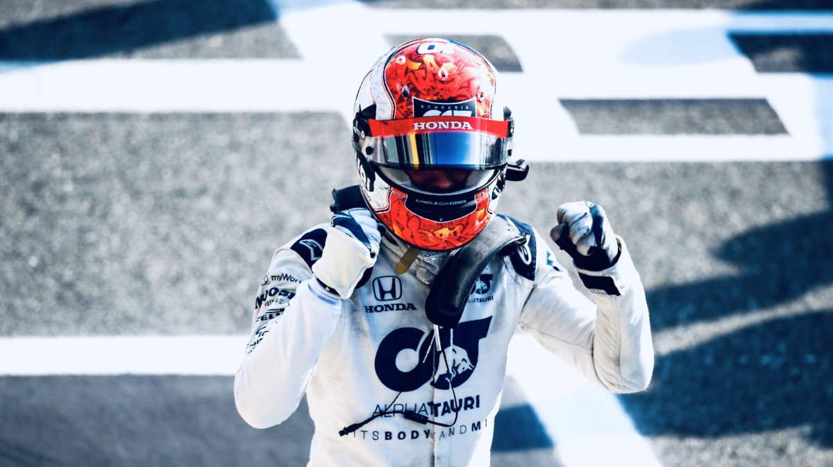 Amazing ending at @Autodromo_Monza. It shows how difficult and unpredictable @F1 is. Congratulations @PierreGASLY @AlphaTauriF1 and welcome to fresh blood  #F1 #ItalianGP 🇮🇹 https://t.co/v4skKv7s6U