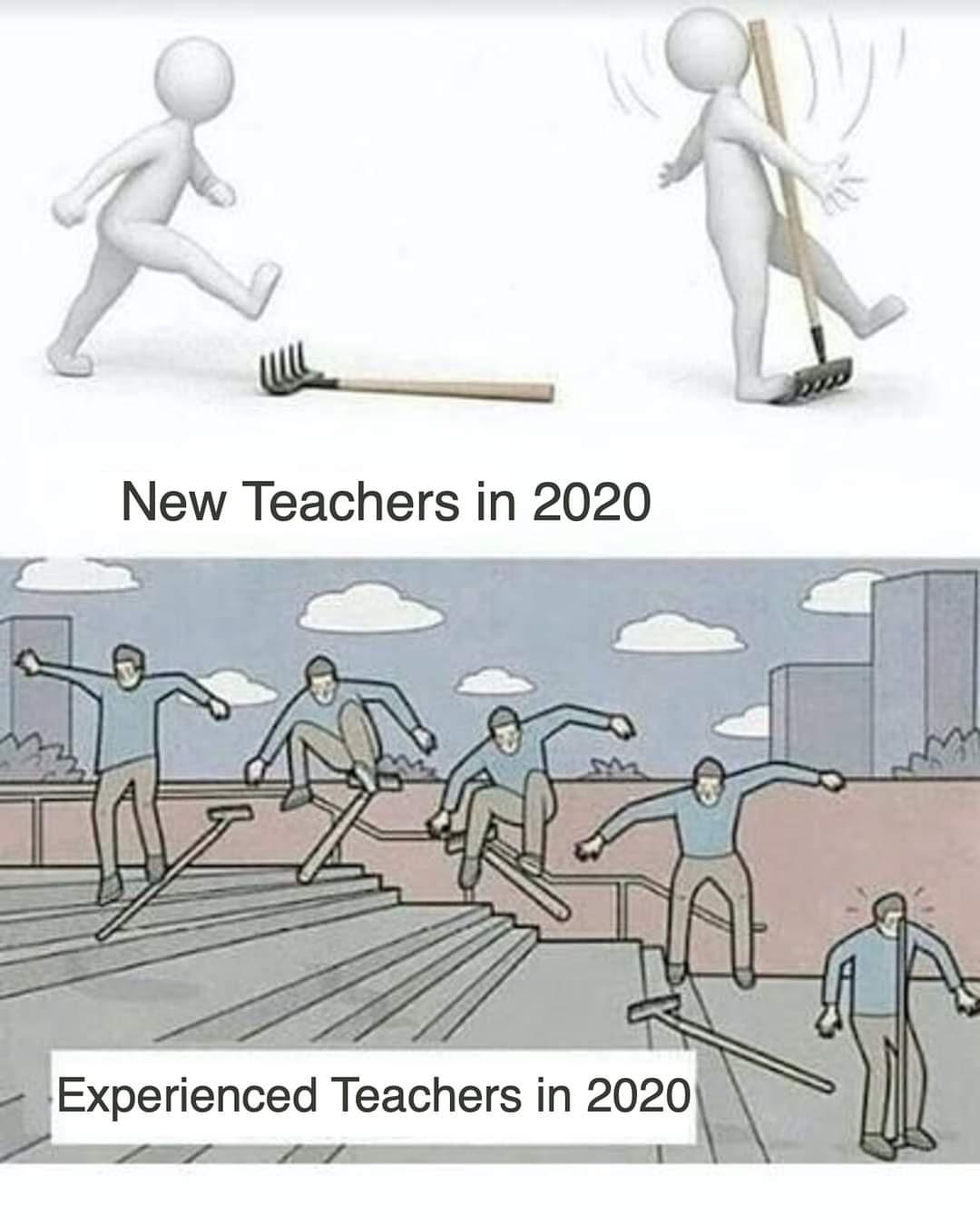 new teachers, experienced teachers 2020
