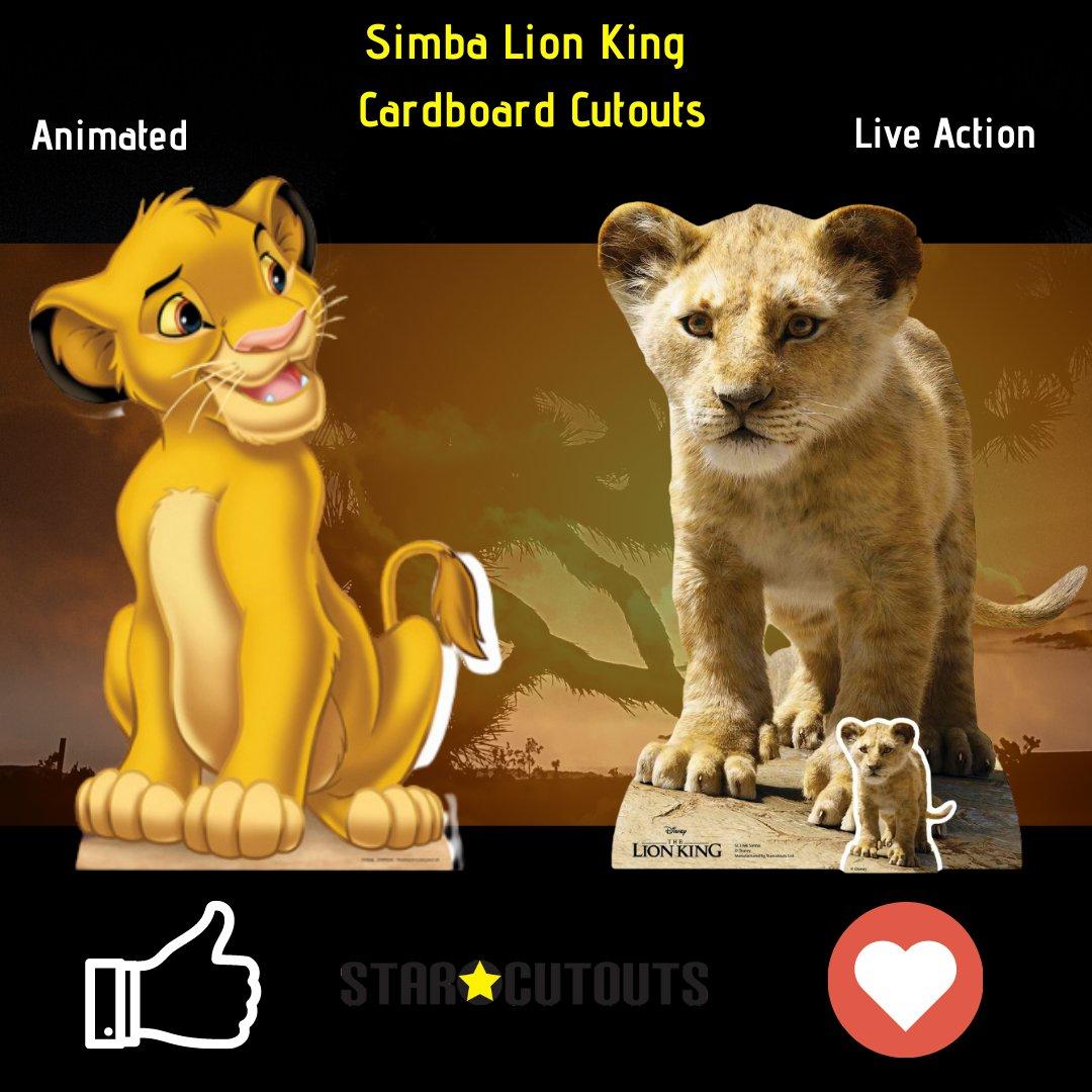 Lovely Intelligent Original Nostaligic  Kind Incredible Natural Great  Shop Lion King Live Action https://t.co/kHGIIsoiaS  #Simba #Lions #Nature #Animals #CardboardCutouts #StarCutouts https://t.co/YLTLpypkOf