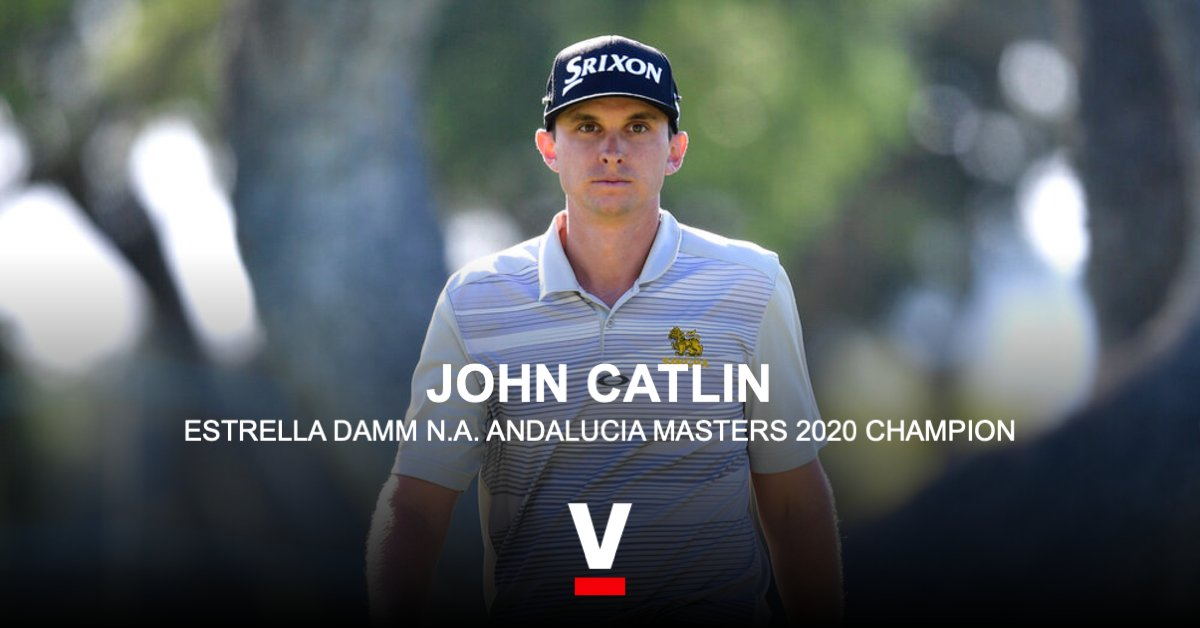 🇺🇸 Congratulations to SPORTFIVE golf client John Catlin on winning the #ValderramaMasters! https://t.co/w7sZesqcbc