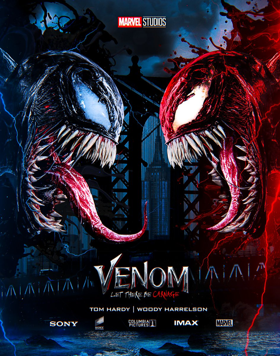 Carnage Venom 2 Poster - Venom 2 Release Date Moved To ...