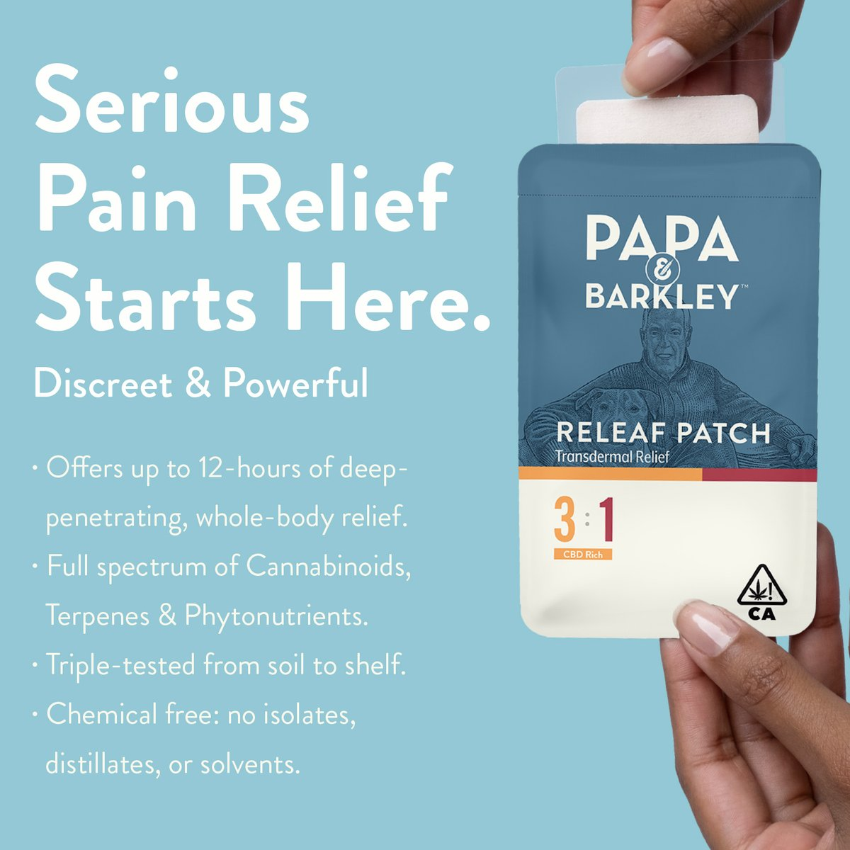 Sore back or shoulders? Our Releaf Patches might be just what you need. Our THC patches offer up to 12 hours of measured and effective whole-body comfort. https://t.co/AKw4IgSkzk