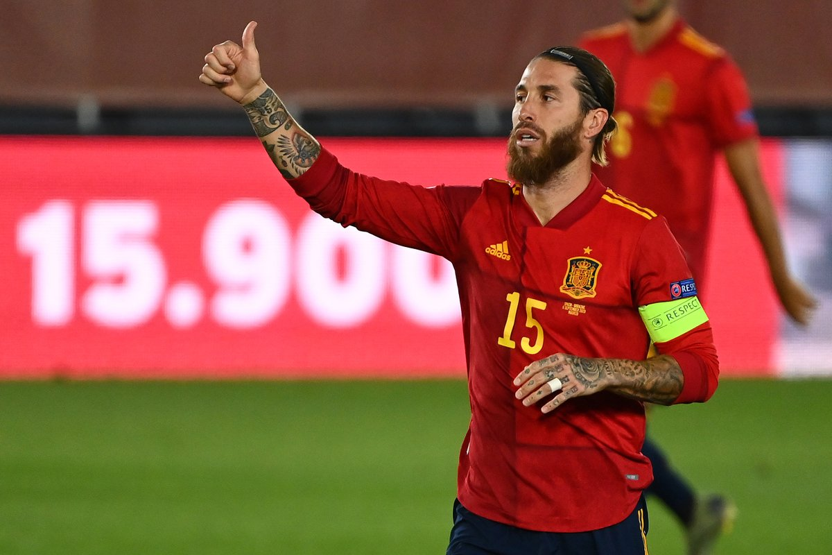 🇪🇸 Sergio Ramos has scored in nine of his last 15 matches for Spain 🎯  #NationsLeague https://t.co/XAaIKwaKrZ
