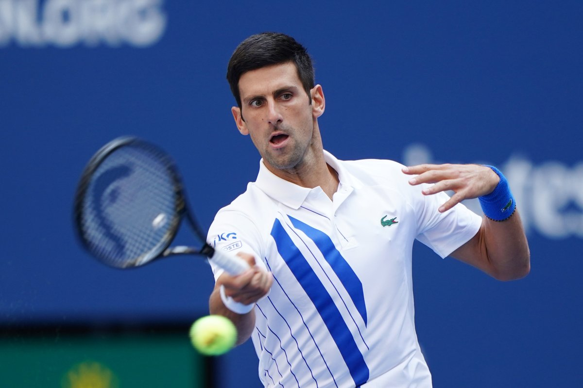 Atp Tour On Twitter Pablocarreno91 Is Through To The Usopen Quarter Finals After Novak Djokovic Is Defaulted