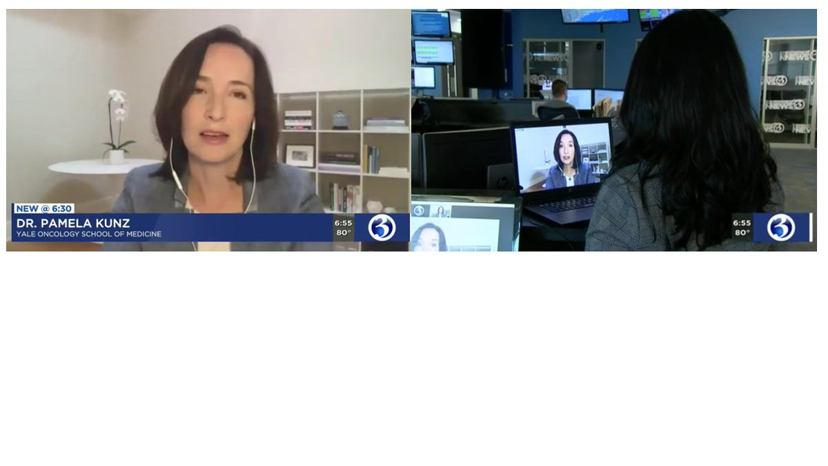 Pamela Kunz Md On Twitter Thanks Wfsbnews For The Platform To Talk About Early Onset Colon Cancer And The Importance Of Screening On The Evening News Psa Get Your Colonoscopy At 45