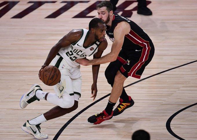 公鹿 1-3 熱火 | 字母哥19分傷退!Middleton 36分,公鹿延長賽險勝熱火扳回一城!(影)-黑特籃球-NBA新聞影音圖片分享社區