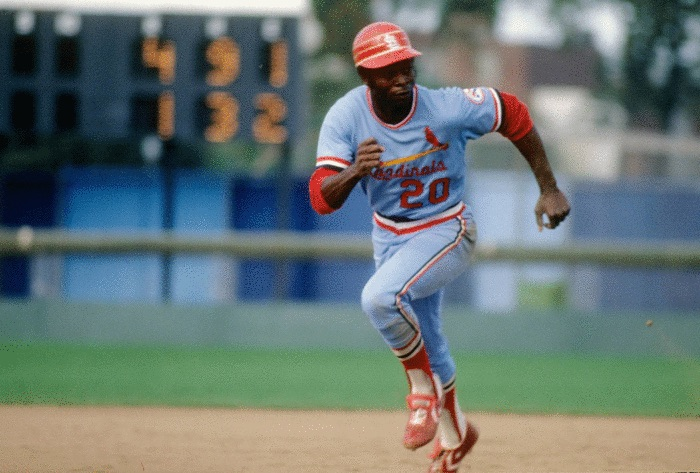 Thank you, Lou Brock. A superstar on and off the field.