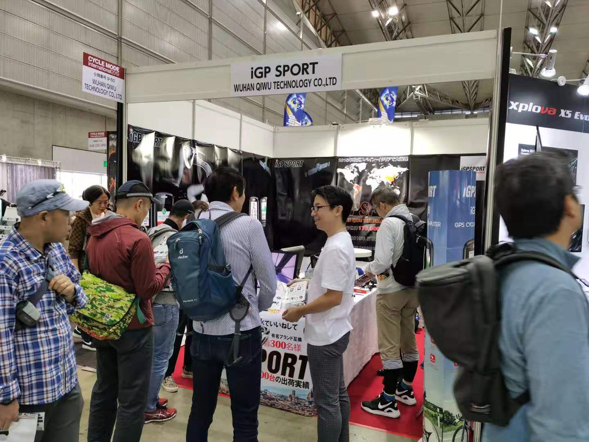 8 years of development of iGPSPORT: Our market developed in Japan and participated in the 2019 Japan Bicycle Exhibition. In the future, we will expand to more places. Facebook: https://t.co/tL51h5ddCK  #Cycling #Bike #Roadcycling #Training #Bikecomputer #WorldBicycleDay https://t.co/0emyzRpduP