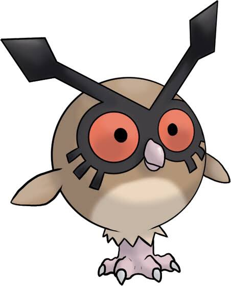@gustken I feel like he might get on with Hoothoot