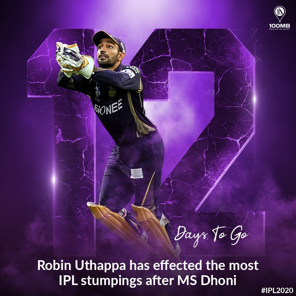 .@robbieuthappa has been a superstar behind the stumps too! #IPL2020