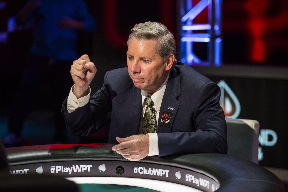 A gutting loss. Mike Sexton was a giant for the game. Very few people did more for the game of poker than he did. My thoughts and prayers are with his family and loved ones.