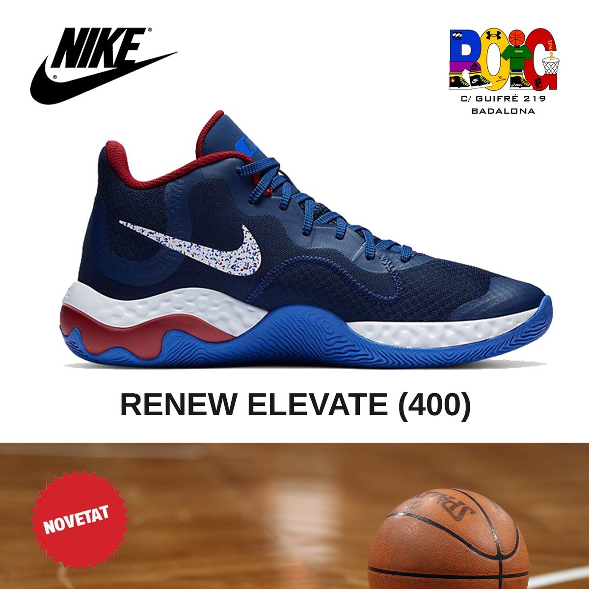 📢 NOVETATS en vambes 👟 de bàsquet 🏀️ per a adults: les Nike RENEW ELEVATE (400) Disponibles a la botiga o a la web 💻 en https://t.co/2tMBtOfHiL #nike #bàsquet #jordiroig #badalona https://t.co/VLw7OxIUXB