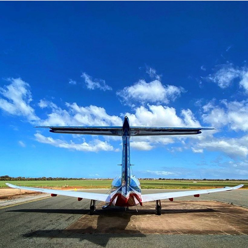 Nothing but blue skies in Tumby Bay, #SouthAustralia. 📷 Ed Fargher
