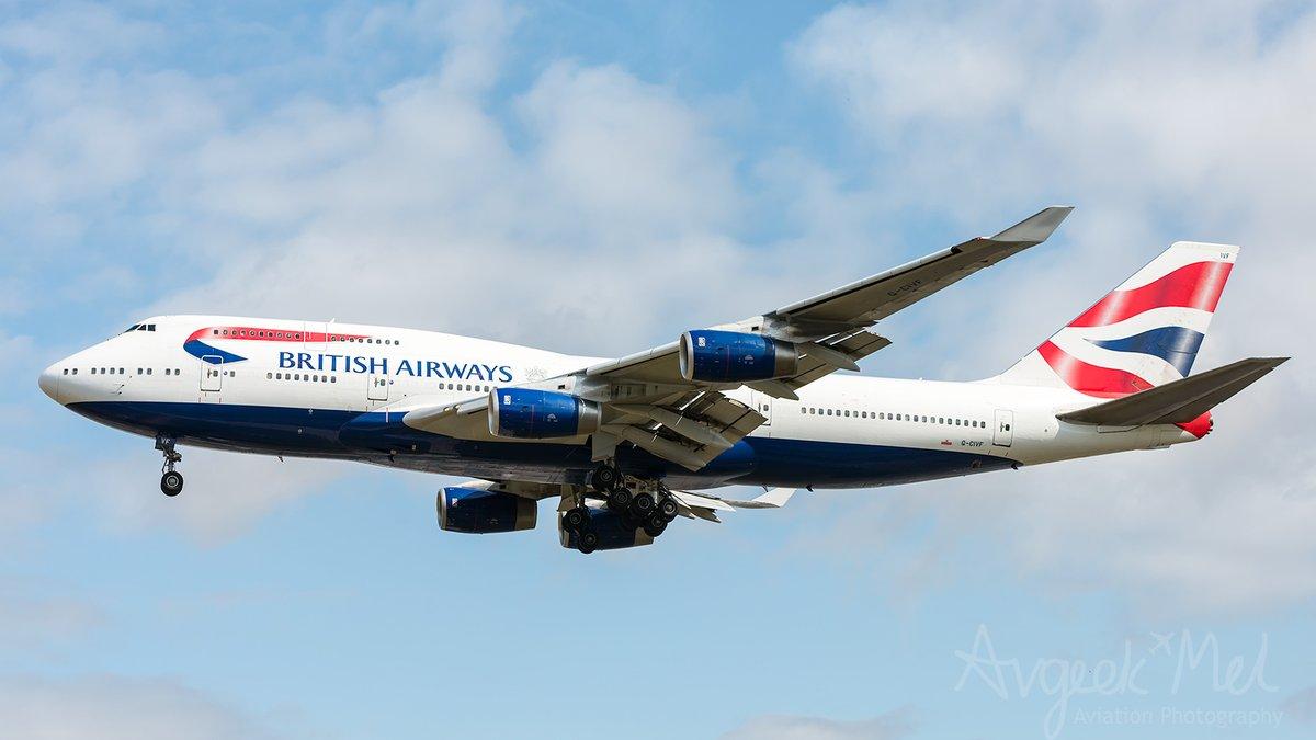 One of @British_Airways fleet of  @BoeingUK B744 'Queen of the Skies' G-CIVF on final approach to @HeathrowAirport July 2019 #avgeek #aviation #throwbackspotting @v1images #theworldwillflyagain #B747 #BritishAirways #HeathrowAirport https://t.co/1FIoxJHe4R