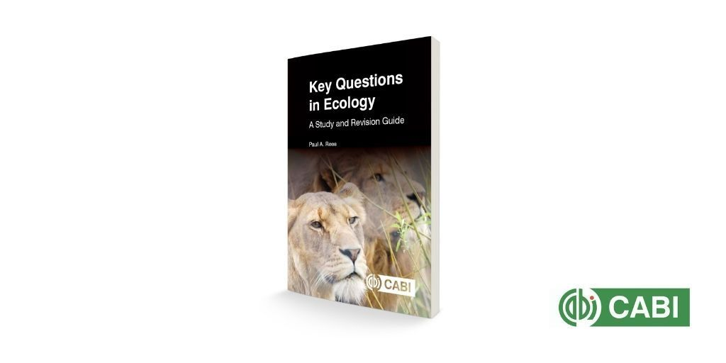 Now published: Key Questions in Ecology: A Study and Revision Guide, by Paul Rees @SalfordUni, is the first in a new Key Questions series offering multiple-choice questions at varying levels, and grouped into major topics to aid student learning.   https://t.co/fbMpK6VhYo https://t.co/JCBrf4wJsw