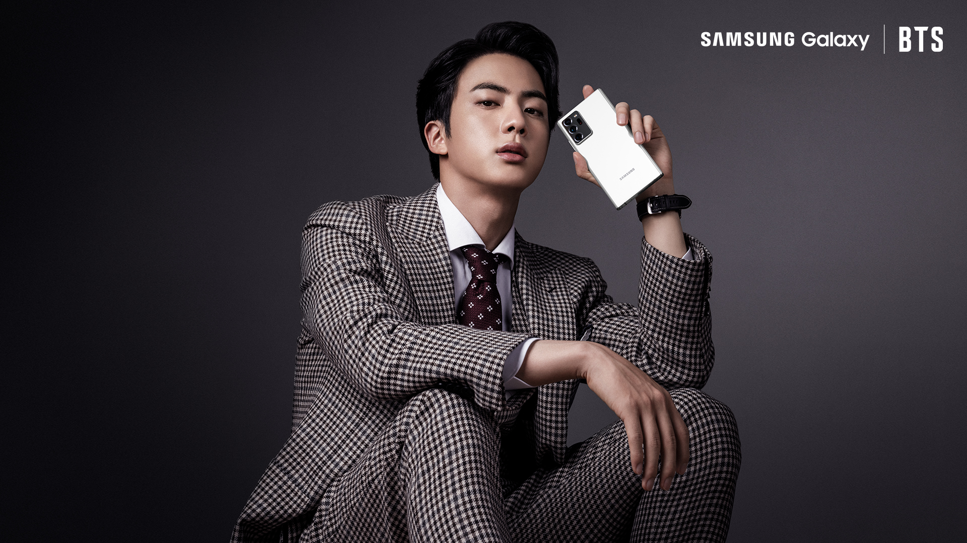 Samsung Mobile On Twitter Spotted Bts S Jin Swaggin With The Galaxynote20 Bts Twt Galaxyxbts Learn More Https T Co Zx38uzrgxu