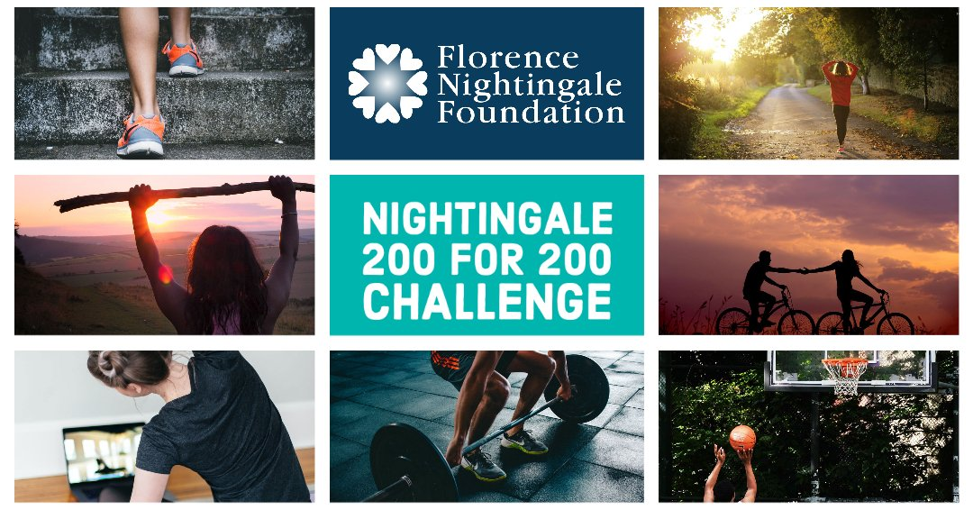 Join us for #Nightingale200for200Challenge by choosing a challenge that involves the number 200 to raise £200. Money raised will help us continue our support to nurses and midwives during the pandemic. Follow the link below for more information. 🎉 florence-nightingale-foundation.org.uk/florencenighti…