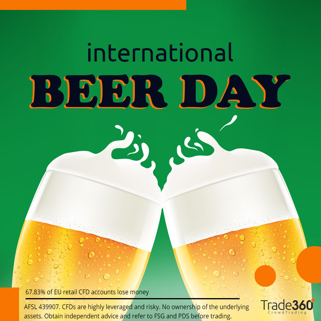 Pour yourself a Glass of Success!  It's National Beer Lovers' Day, which is the perfect time to remind you that #Heineken & #Carlsberg are available to trade on Trade360.  Just don't drink and trade!  👉 https://t.co/4uRpKddybW #nationalbeerloversday https://t.co/ez033IGnBd