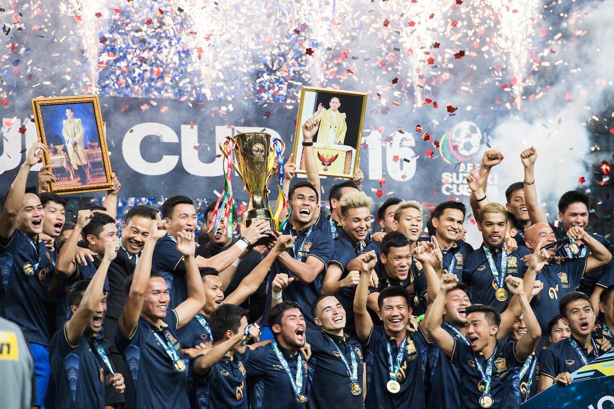 🇹🇭 🇸🇬  The only nations to have won back-to-back #AFFChampionship titles 👑  #MondayMotivation #AFFSuzukiCup https://t.co/HkgtLHwUvM