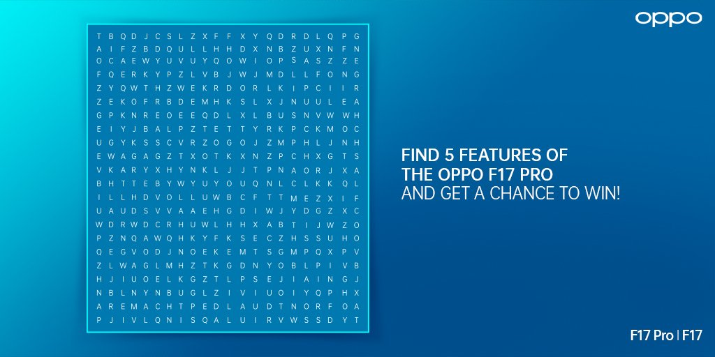 Given its superior technology and design, the new #OPPOF17Pro is truly a piece of art. Name all the features that you can spot here and reply below using #OPPOF17Pro & #FlauntItYourWay. A few lucky winners will stand a chance to win the #OPPOF17Pro! https://t.co/2JW7G1KvX2