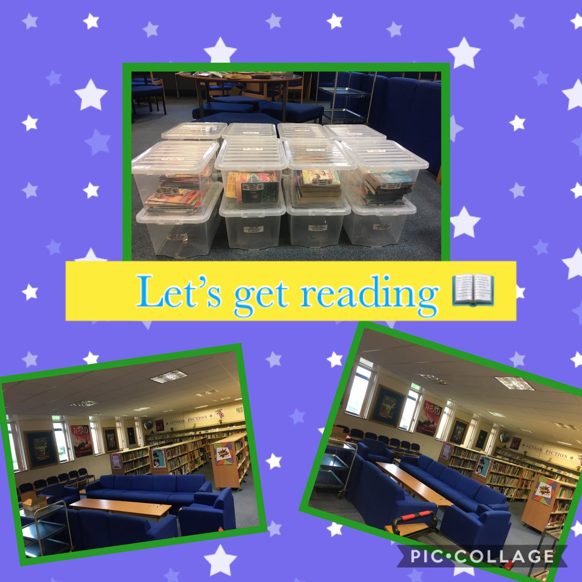 Organising satellite libraries for our bubbles! Thanks to ⁦@BookTrustNI⁩  for supplying some of the 📚 ⁦@StJosephsDerry⁩ #readtosucceed https://t.co/75ZI3yZ13K