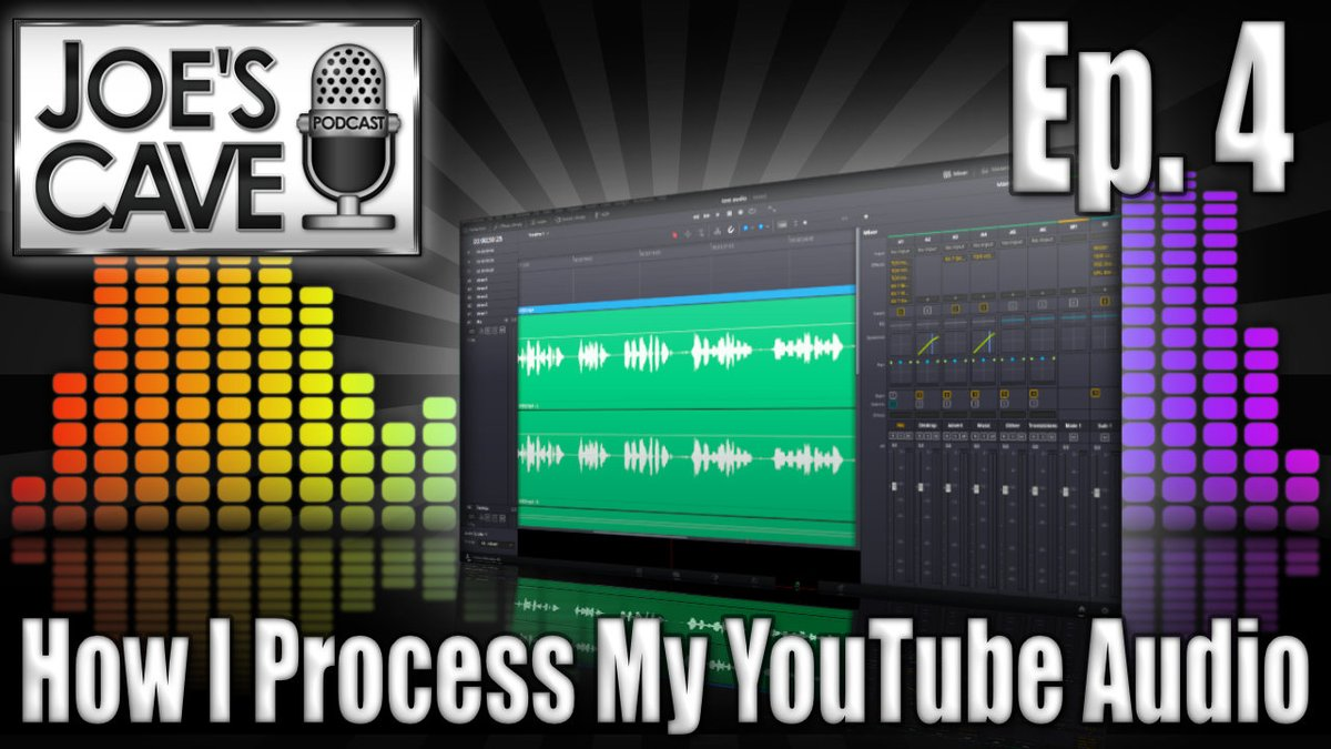 Joe's Cave Podcast Ep. 4 // New OBS 26 Features & How I Process My Podcast & YouTube Audio #podcasts #contentcreators #SmallYouTuberArmy #youtube #SmallStreamersConnect #SmallStreamersConnectRT #smallyoutubers   https://t.co/Y08FMcZXIp https://t.co/mAZQNonIAt