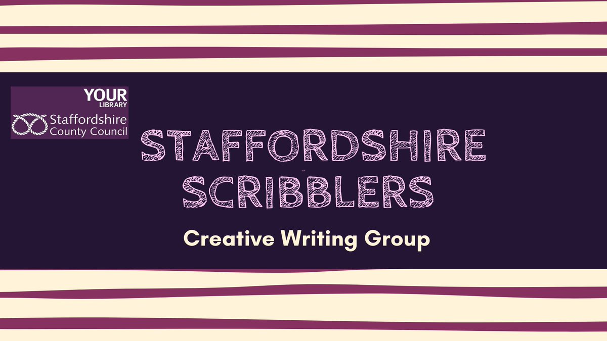 Missing your writers group? Join 'Staffordshire Scribblers' a new online creative writing Facebook group, brought to you by #Staffordshire Libraries.  Follow the link to join:  https://t.co/vTAPgUFAWn https://t.co/WsFlCQfWyJ