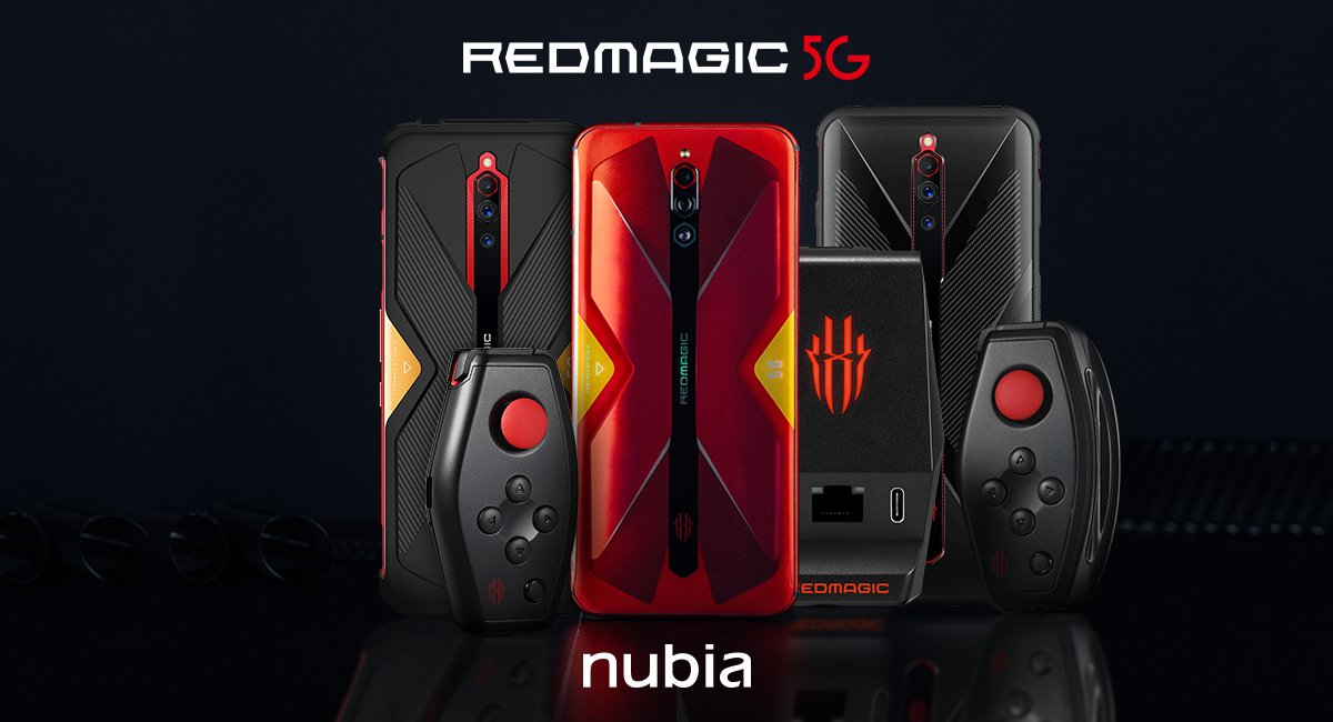 Looking to get into mobile gaming?  Check out the RedMagic 5G at its new low price of $569 / €569 / £529! https://t.co/xQr1H00u0e https://t.co/GReEz1kNSI
